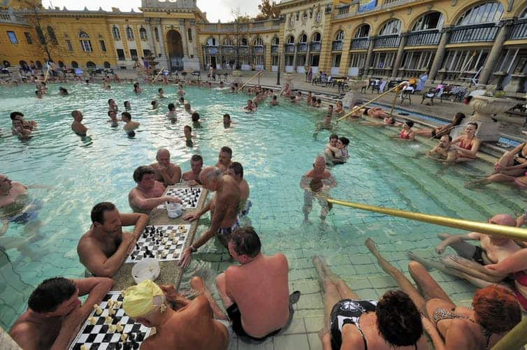 A hot bath has benefits similar to exercise