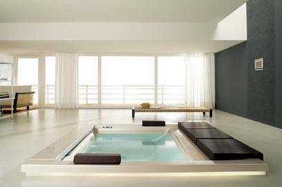 hot tub interior beautiful